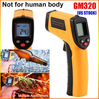 Non Contact Lcd Ir Laser Infrared Digital Temperature Thermometer Gun-pyrometer