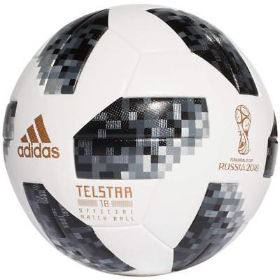 ADIDAS TELSTAR WORLDCUP 2018 RUSSIA Official Match Ball size 5