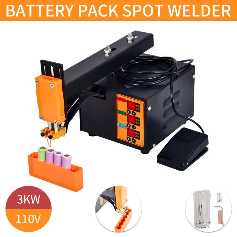 Pulse Spot Welder Welding Soldering Machine 18650 Battery Packs 110V 3KW
