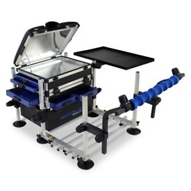 Fishing seat box,square leg accessories | in Wombwell, South