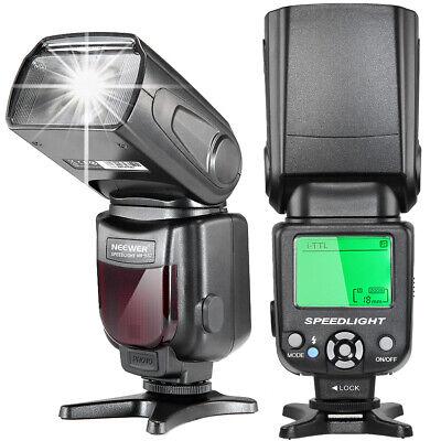 Neewer i-TTL LCD Display Speedlite Flash w/ Protecting Bag for Nikon DSLR Camera