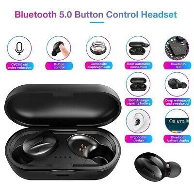 Bluetooth Headphones Rokono BASS+ (RSE160) Wireless Earbuds for iPhone / Samsung