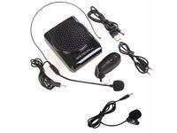 Voice Amplifier Microphone Speaker
