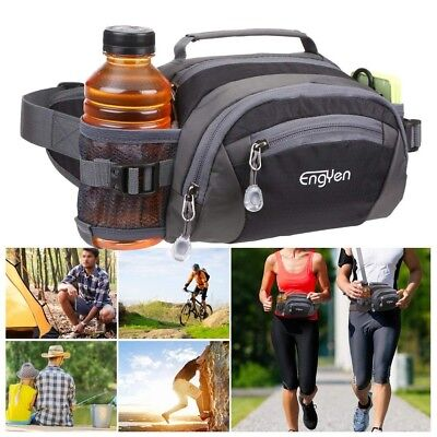 ENGYEN Fanny Pack Waist Bag for Women Men, Running Packs Gear hold Phone Water