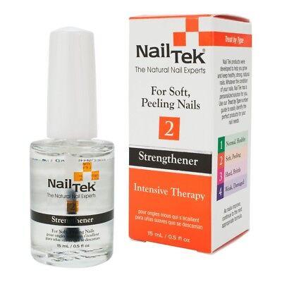 Intensiv-therapie (Nail Tek II Intensiv Therapie für Weich Peeling Nägel 15ml UK Verkäufer)