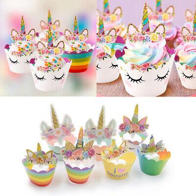 Wrapper Cupcake Kinder Geburtstag Muffin Kuchen Torte Dekor (Geburtstag Cupcake-wrapper)
