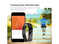New Slim Heart Rate Monitor Smart Bracelet Band Sport Activity Tracker for Android & iOS Smartphone