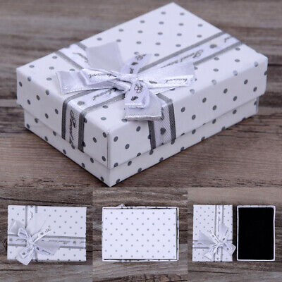 10Pcs Lot Jewelry Gift Paper Boxes Ring Earring Necklace Watch Bracelet Box (Paper Jewelry Earrings)