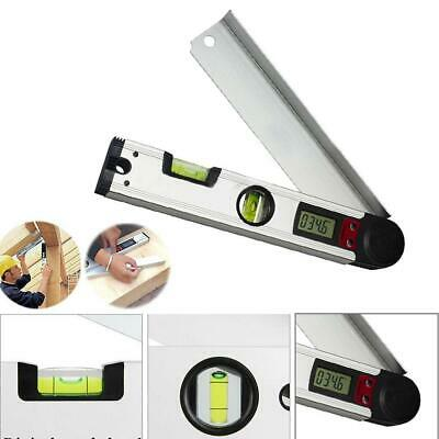 Magnetic Digital Mini Protractor Electronic Spirit Level Test Ruler Angle Finder