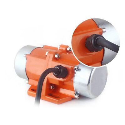 110v Vibrate Vibrating Vibrator Motor 3600rpm 1ph Aluminum Alloy