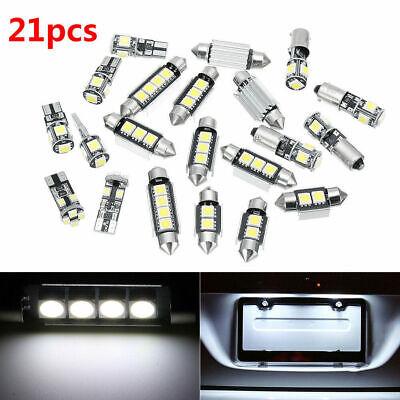 21X 12V White Interior LED Light Bulb Kit for BMW 5 Series M5 E60 E61 2004-10 HP