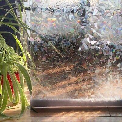 Cling Kitchen Glass Sticker Window Privacy Premium No-Glue Cover Films 3D DL5 ()
