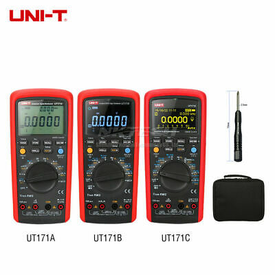 Uni-t Industrial True Rms Digital Multimeter Ac Dc Usbbluetooth Transfer Loz