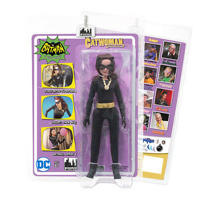 Batman 66 Classic Tv Show Mego Style 8 Inch Figures Series 6  Catwoman  Julie