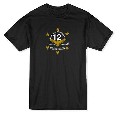 Better To Be Judged By 12 Than To Be Carried By 6 Gun Right Men's Black