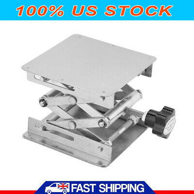 4in Stainless Lab-lift Lifting Platforms Stand Rack Scissor Lab Jack Lab-lifting