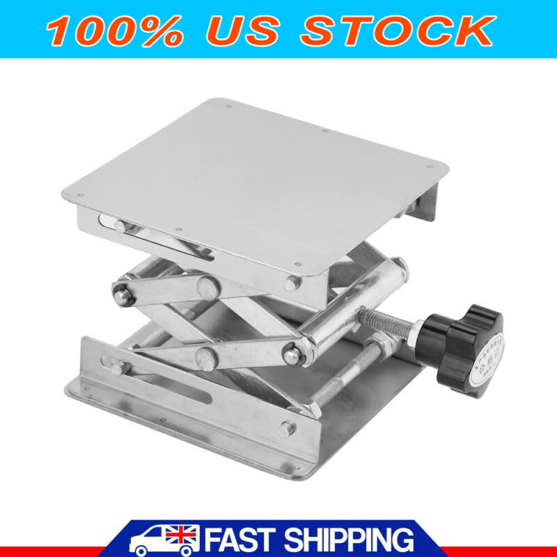 4in Stainless -Lift Lifting Platforms Stand Rack Scissor   -Lifting