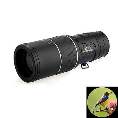 Monocular Telescope 16X52 Dual Focus Zoom Optic Lens Outdoor Travel Hunting MT16