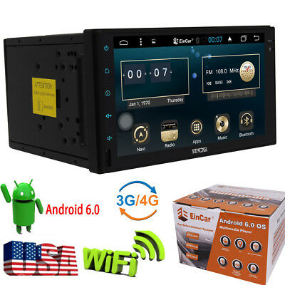 "In-dash Android OS WIFI 7""Double 2DIN Car Radio GPS Stereo no-DVD Player+CAMERA"