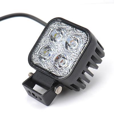 12W LED Off Road Vehicle Jeep Truck Car Work Light Boat Spotlight Lamp 12V 24V