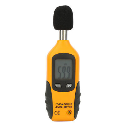 Ht-80a Noise Tester Decibel Meter Usb 30-130db Accuracy Digital Sound Level