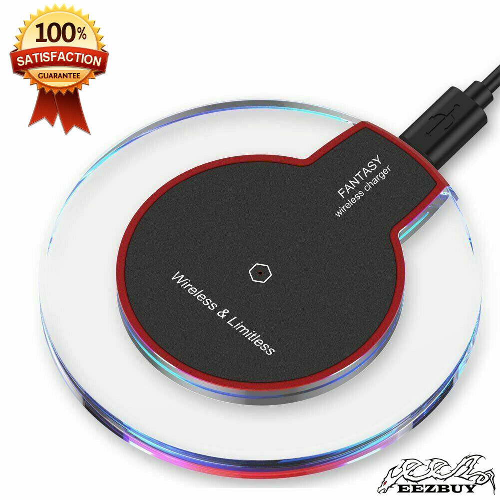 Qi Wireless Fast Charger Pad Charging Dock for iPhone 11 Pro