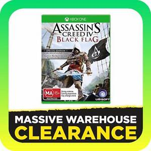 Xbox One XBO Game - Assassins Creed IV: Black Flag Special Ed Tullamarine Hume Area Preview