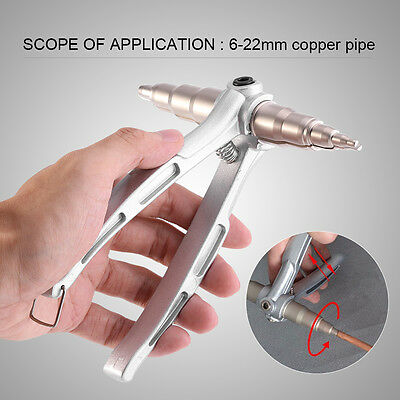 Copper Pipe Tube Expander Air Conditioner Install Repair Hand Expanding Tool Js