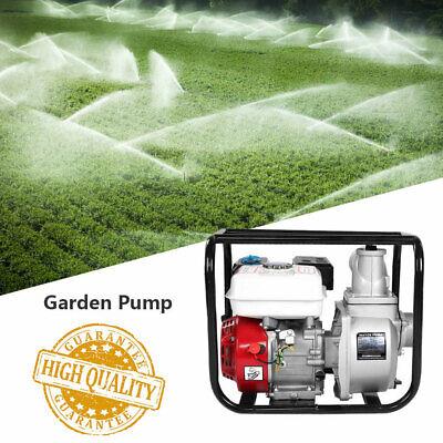 6.5HP 7m Water Transfer Pump 3 in Petrol High Pressure High Flow 13000GPH Garden