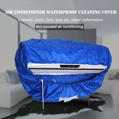 Air Conditioner Cover Waterproof Bag Cleaning Home Protector