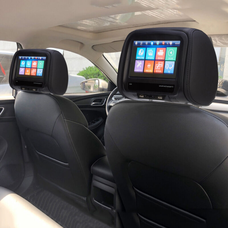 8inch 12V Car Monitor Headrest Pillow Display MP5 Player/Bluetooth /USB Remoted