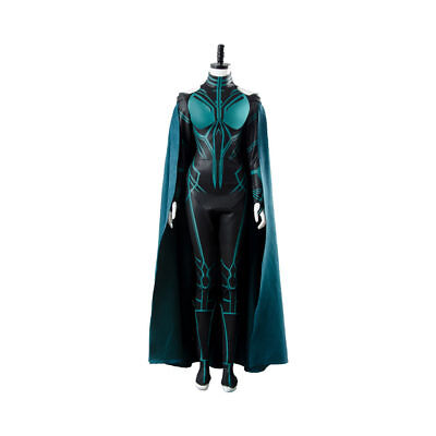 Avengers Thor 3: Ragnarok Hela Cosplay Costume Halloween Suit Custom made Boots - Thor Womens Halloween Costume