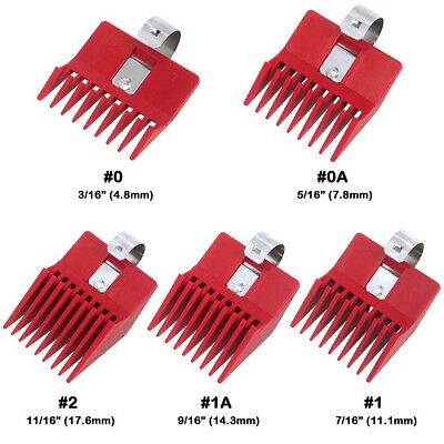 Speed O Guide Universal Clipper Red Comb Attachment Teeth Edge Wahl Andis *1PC Wahl Attachment Guide