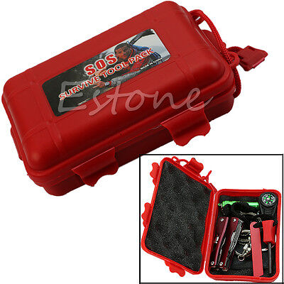 SelfHelp Outdoor Sport Camping Hiking Survival Emergency Gear Tools Kit Box Sets