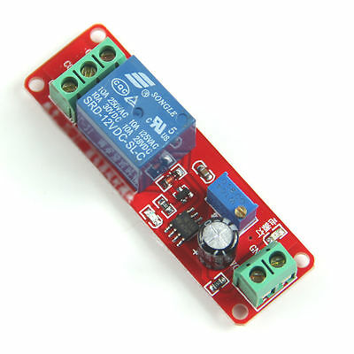 1pc 12 Vdc Adjustable On Delay Time 0 To 10 Seconds 10 Amp Relay Board