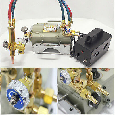 110v New Magnetic Tunnel Pipe Torch Gas Cutting Machine Cutter Cg211