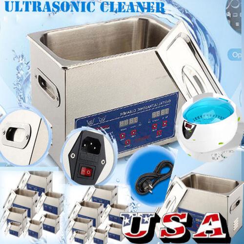 750ml-30l Ultrasonic Cleaner Bath Washing Jewelry Dental ...