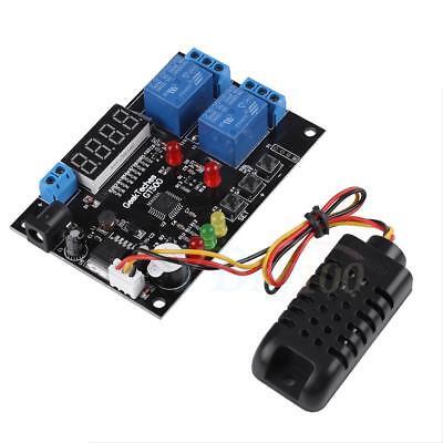 Led Digital Temperature Humidity Control Board For Greenhouse Incubator 524v