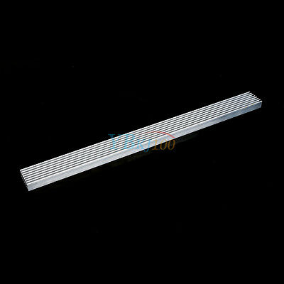 300x25x10mm Aluminum Heat Sink Cooling For Led Power Ic Pc Heatsink Cooler Highq