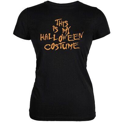 Cheap Junior Halloween Costumes (My Funny Cheap Halloween Costume Black Juniors Soft)