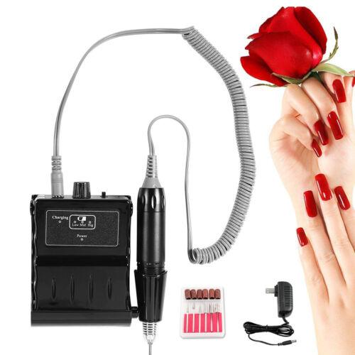iMeshbean 35,000RPM Rechargeable Nail Drill Art LCD Manicure Pedicure Machine