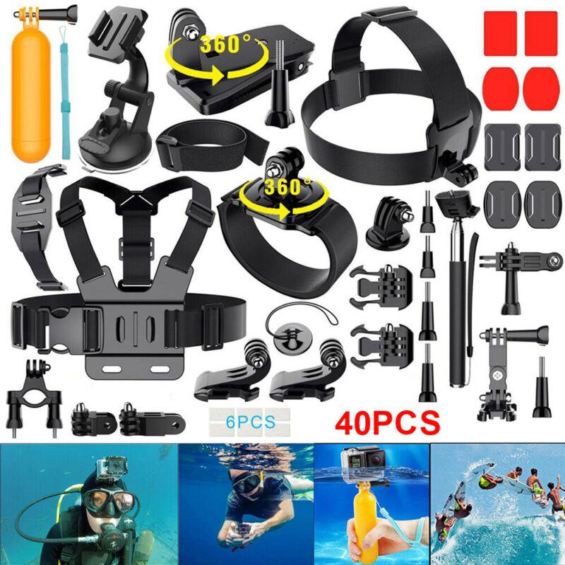 Camera Monopod Mount Accessories Kit for Gopro Hero 9 Black 8 7 6 Session SJCAM