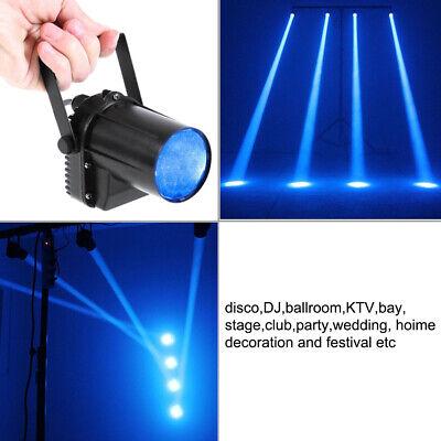 Mini RGB Stage Lighting DMX Spot Beam RGBW LED Disco DJ Party Lights Projector