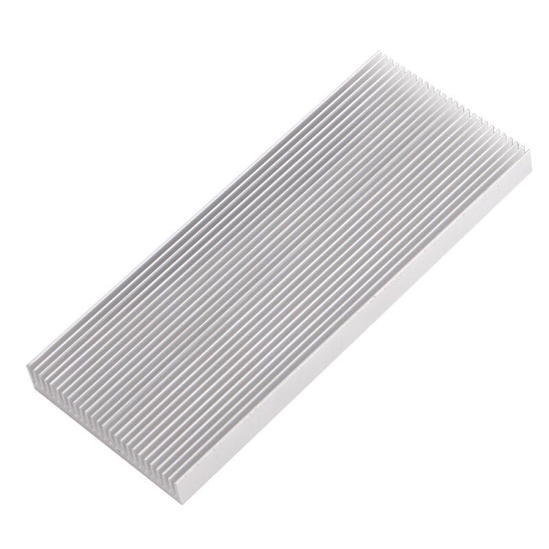 Aluminum Heat Sink Heatsink for High Power LED Amplifier Transistor 100x41x8mm B