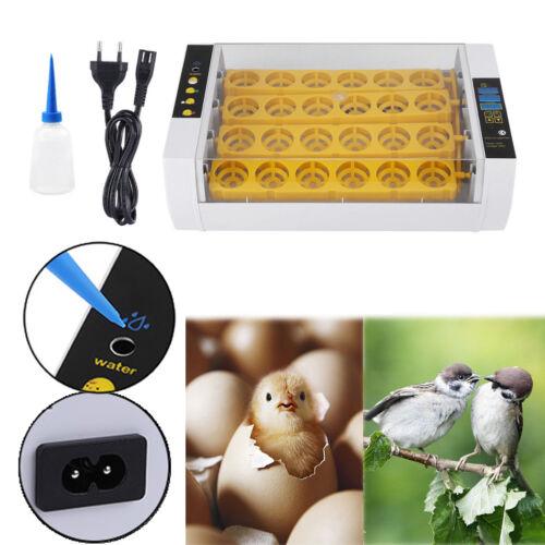 24 Eier Vollautomatische Inkubator Brutkasten Brutmaschine Brutapparat GHS 29