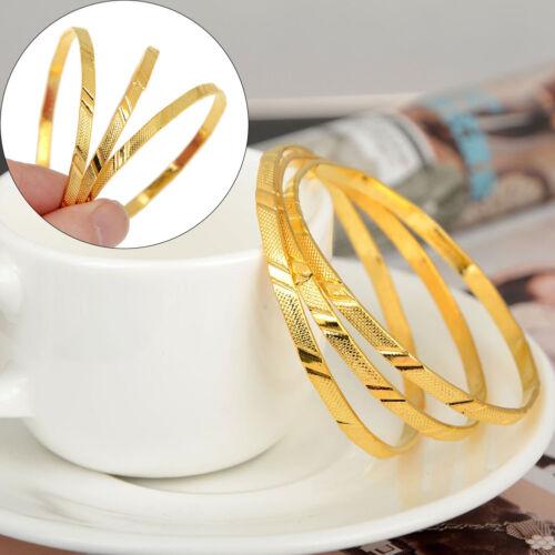 3 Stück/Set Kind Baby Kinder Armband Rose Gold Armreif Cuff Schmuck Armbänder