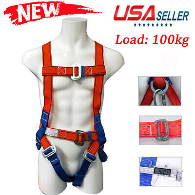Fall Protection Construction Harness Full Body Safety Waist Belt Universal-100kg