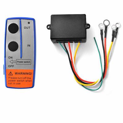 12V Cabrestante Eléctrico Remoto Inalámbrico Sistema Control Interruptor Camión
