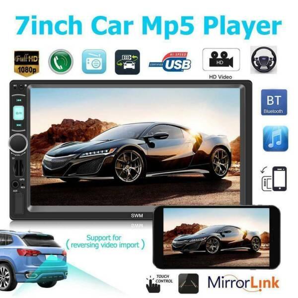 GPS Navigation sat nav 7 inch Double 2 DIN Car Stereo MP5