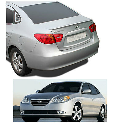 New Rear Trunk Wing Lip Space Spoiler for HYUNDAI 2007-2010 Elantra - Black